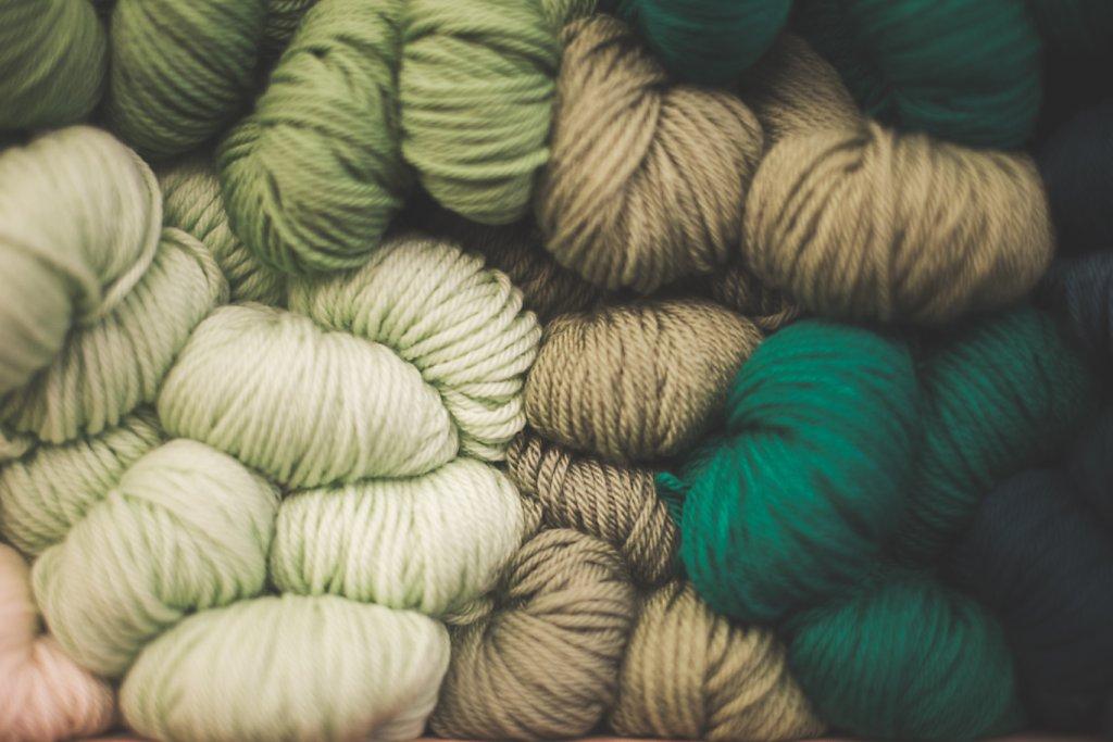 Knitting shop in Soho